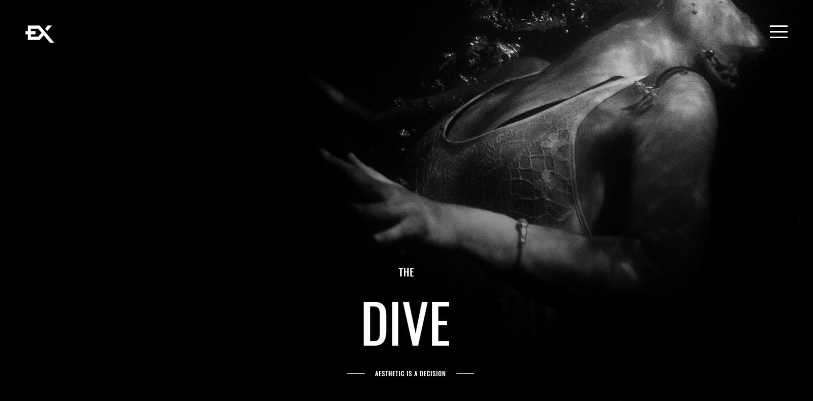 the-dive-gallery-website-template