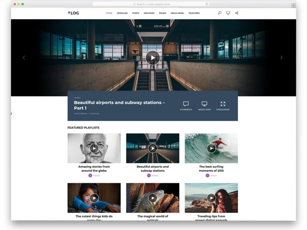 15 Exuberant WordPress Live Streaming Theme - 2019