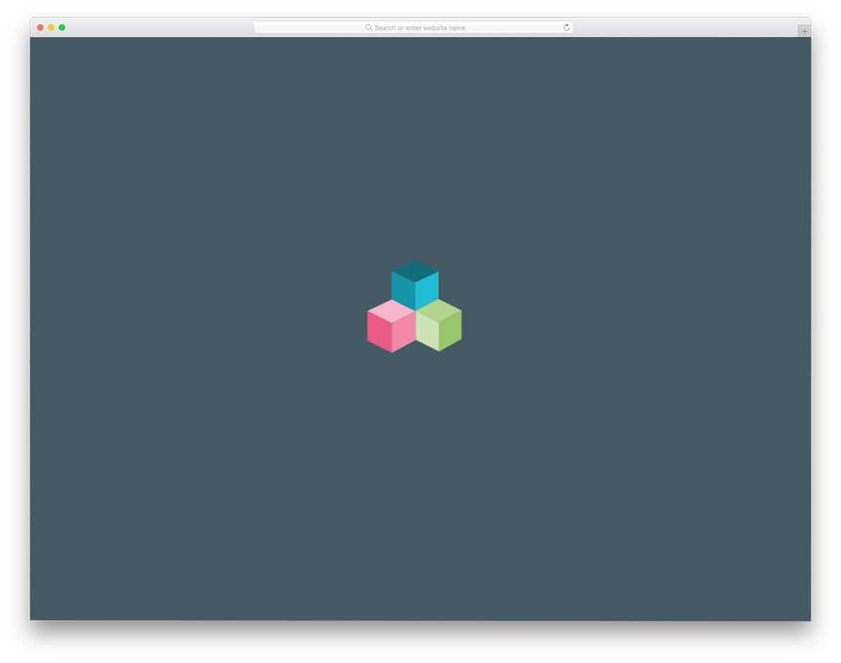 3D css loading animations