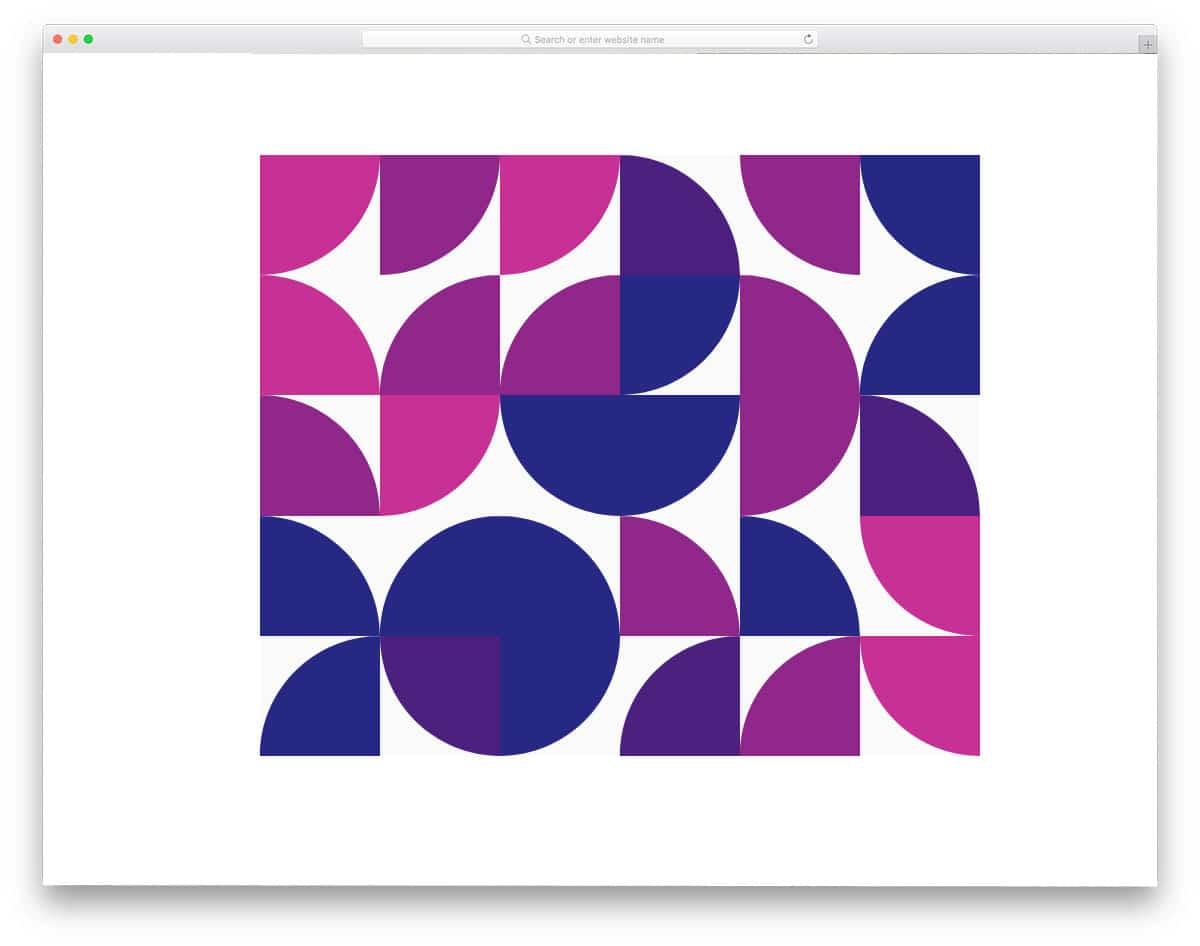 modern art css background pattern
