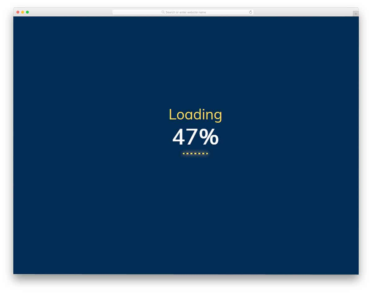 hr designs used in loading animation