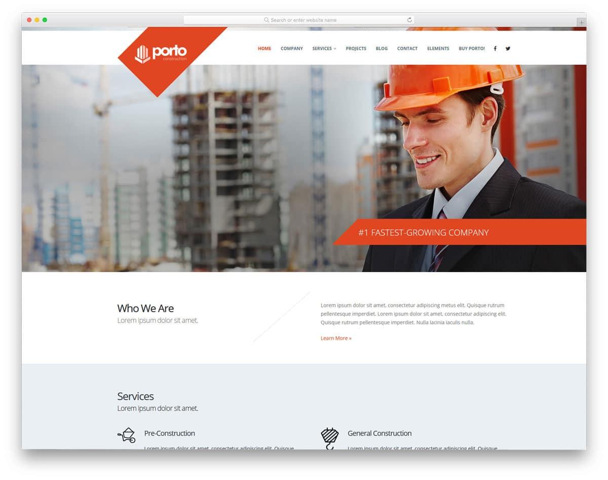 interactive modern multipurpose construction wordpress themes