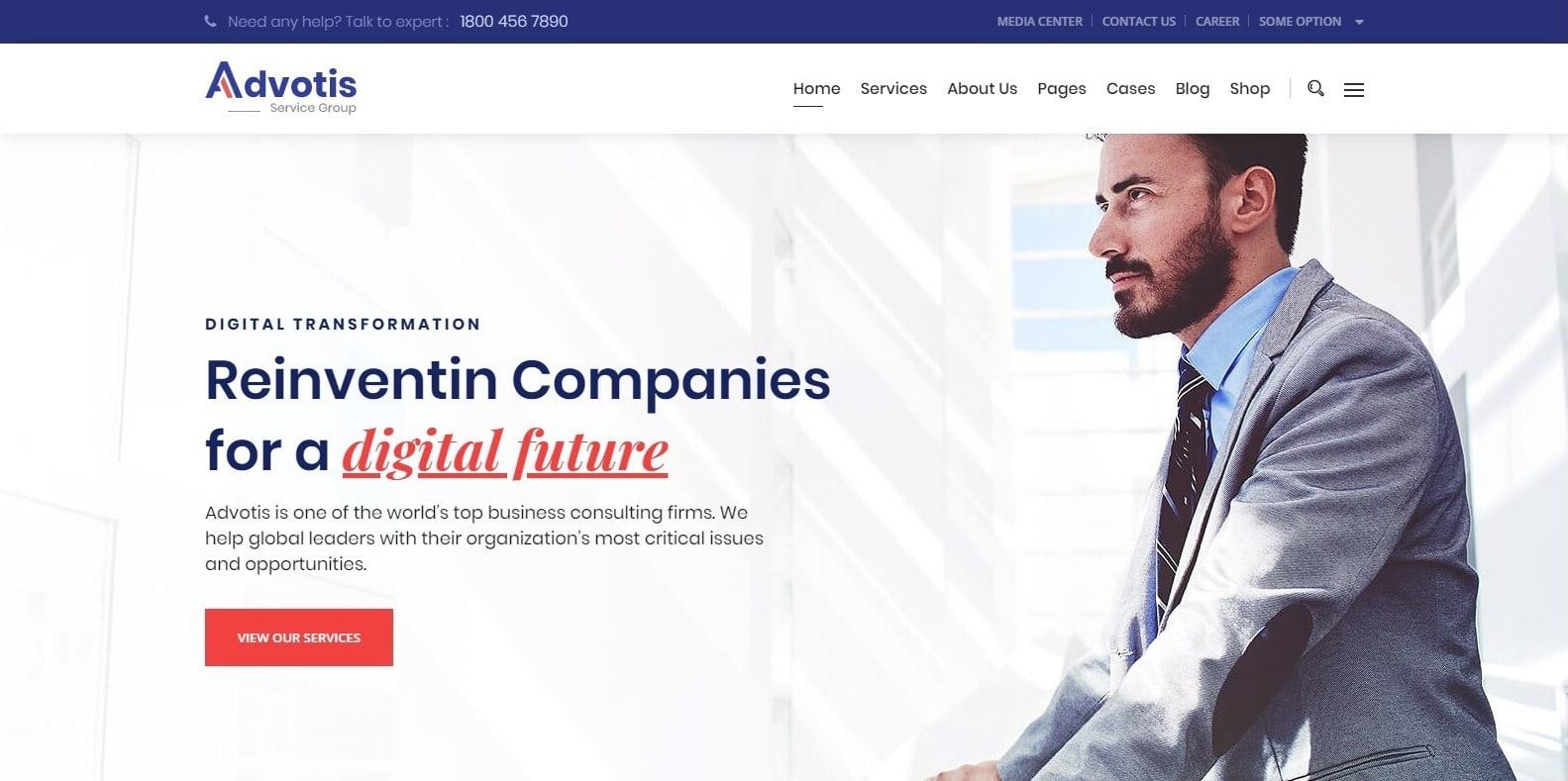 advotis-finance-webaite-template