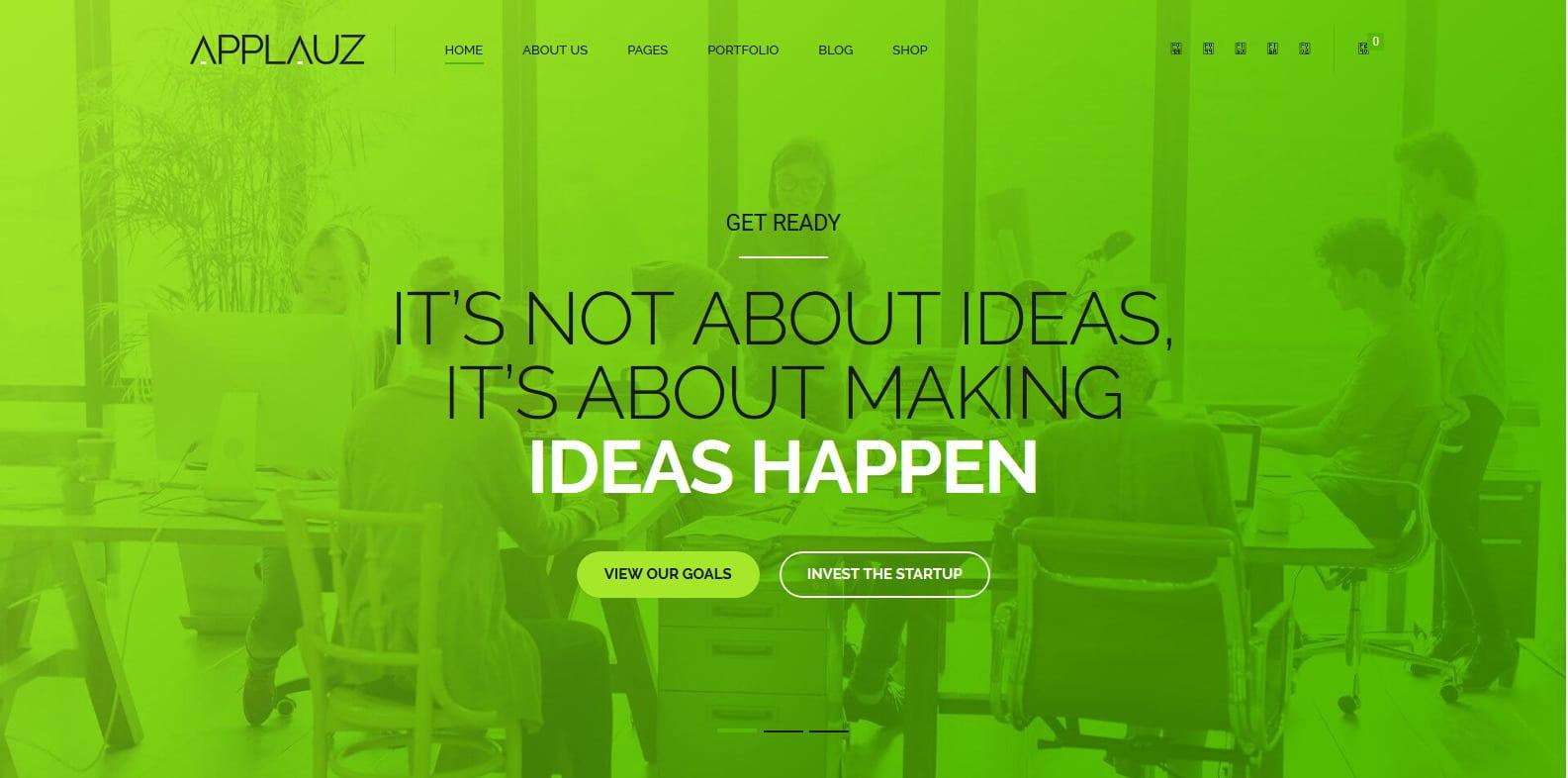 applauz-technology-website-template