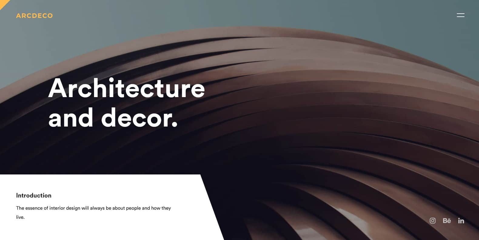 arcdeco-interior-design-website-templates
