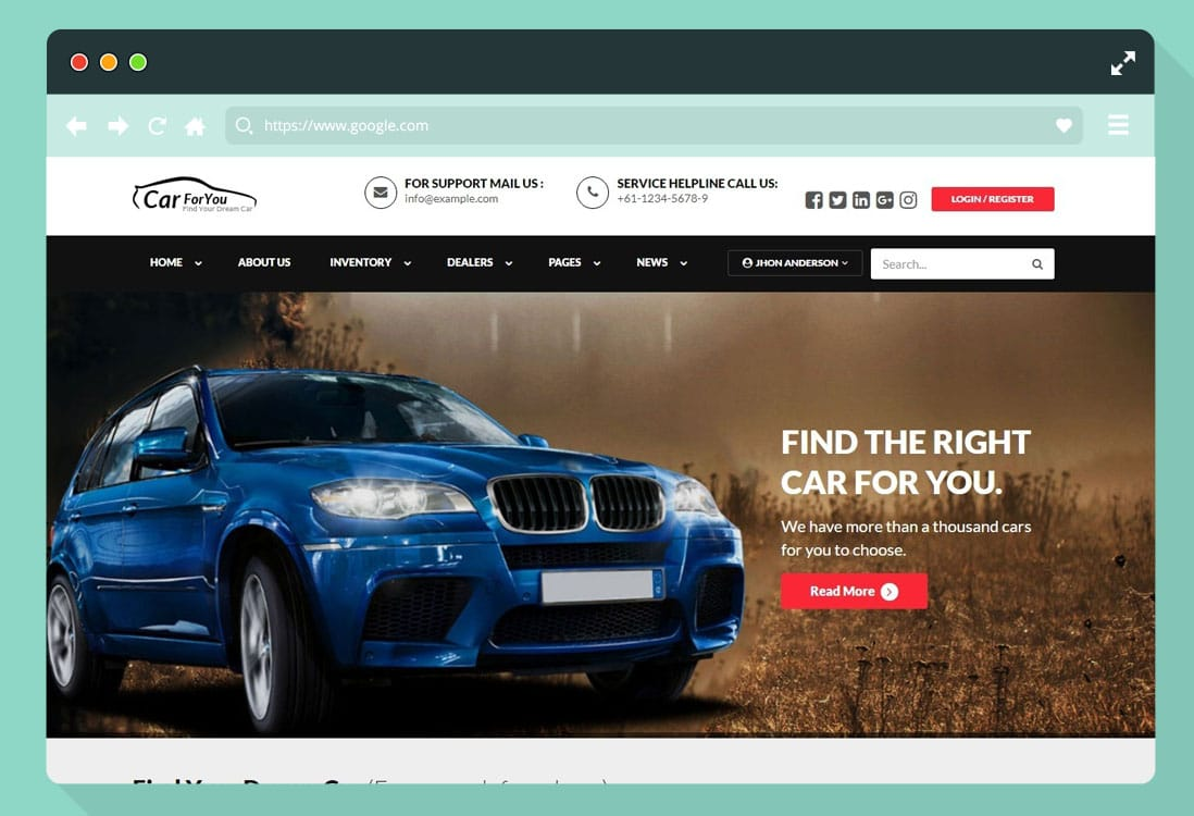 20 Premium Automotive Website Templates Wordpress Themes 2019