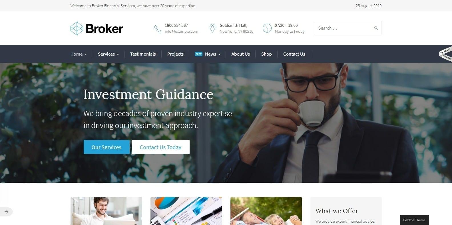 broker-finance-webaite-template