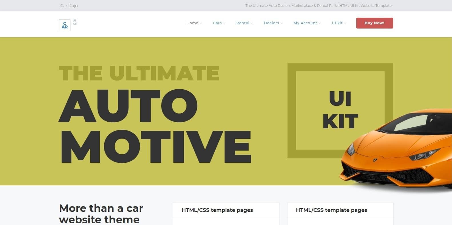 car-dojo-automotive-website-template
