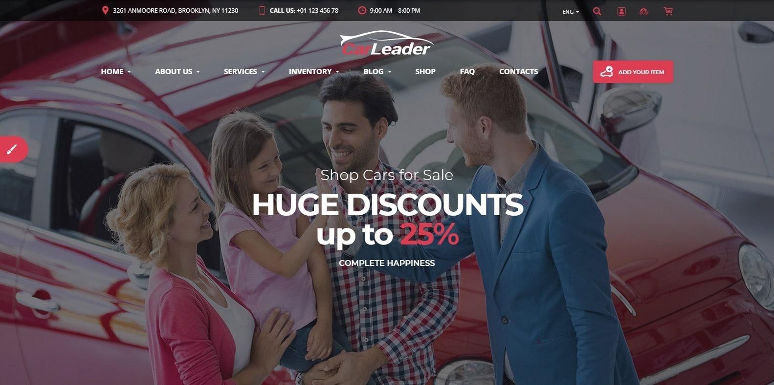 car-leader-automotive-website-template