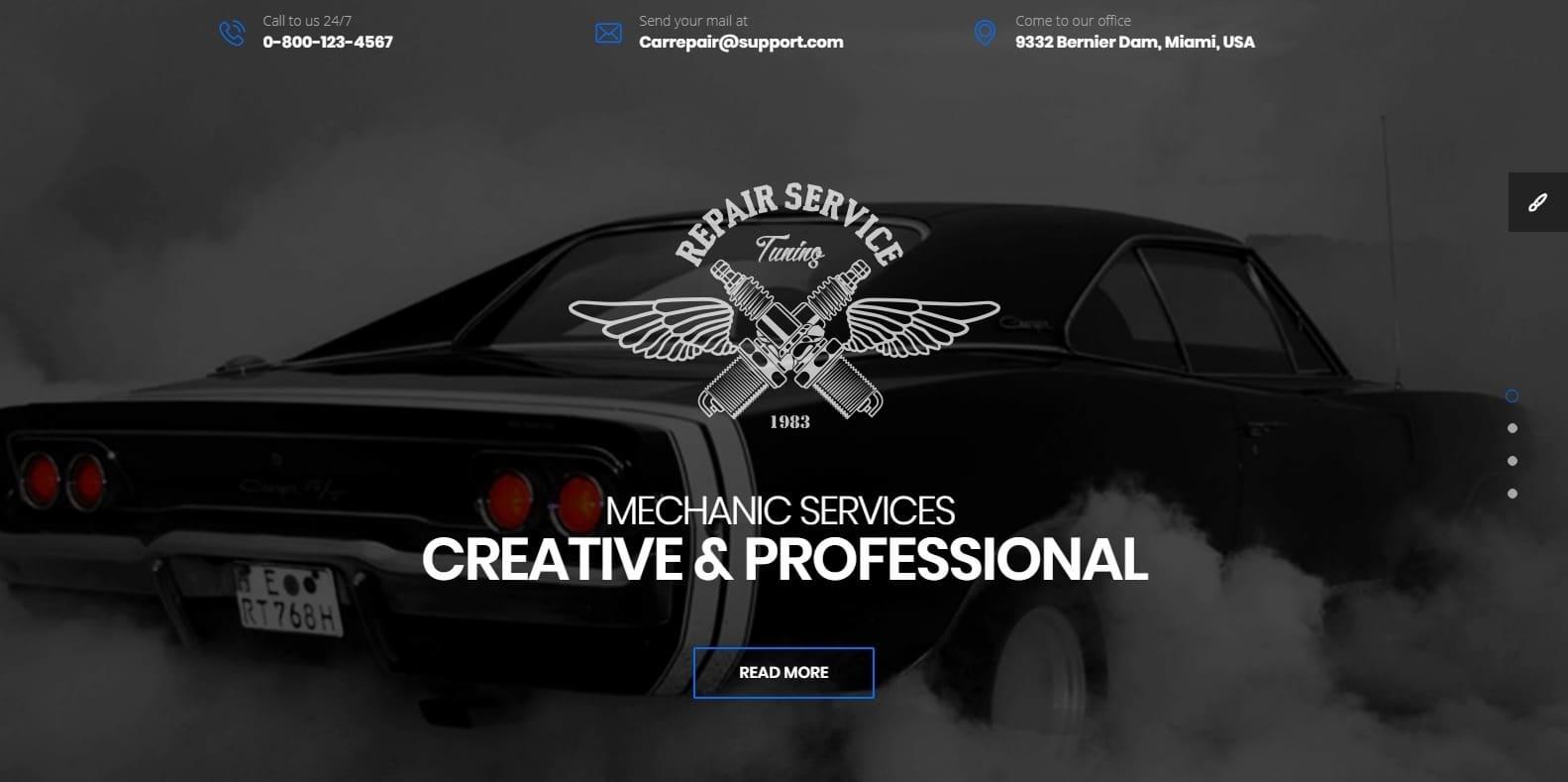 car-repair-automotive-website-template