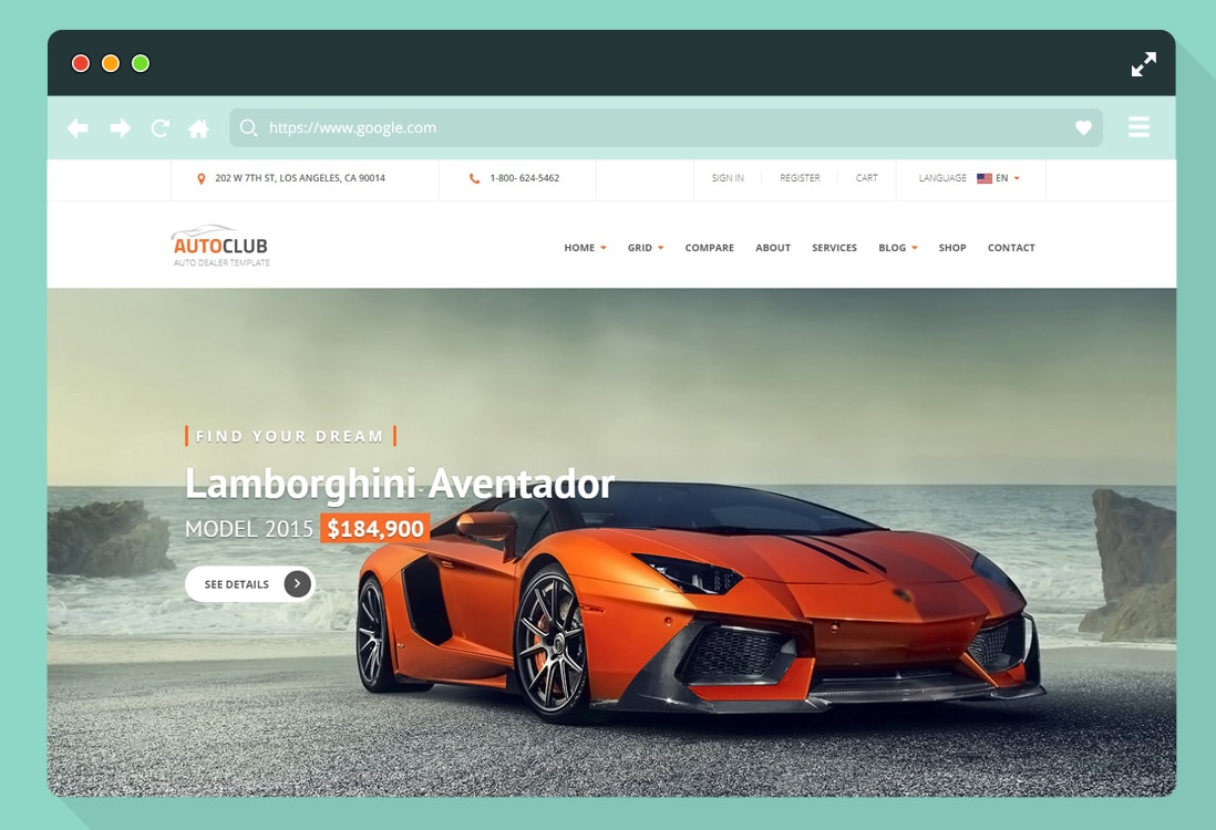 car-website-templates