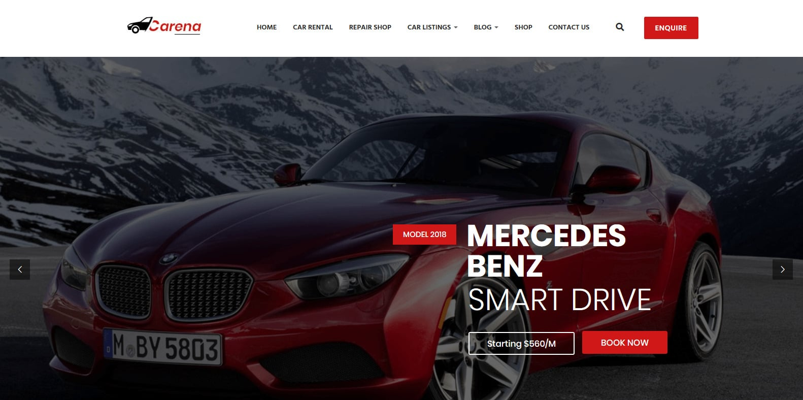 carena-automotive-website-template