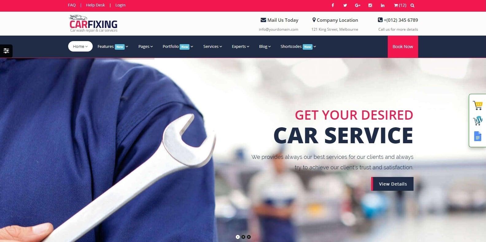 carfixing-automotive-website-template