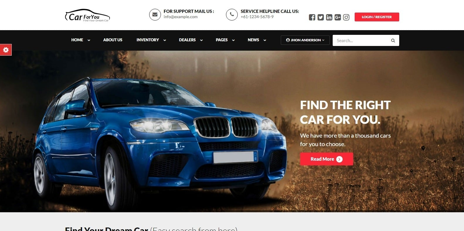 carforyou-automotive-website-template