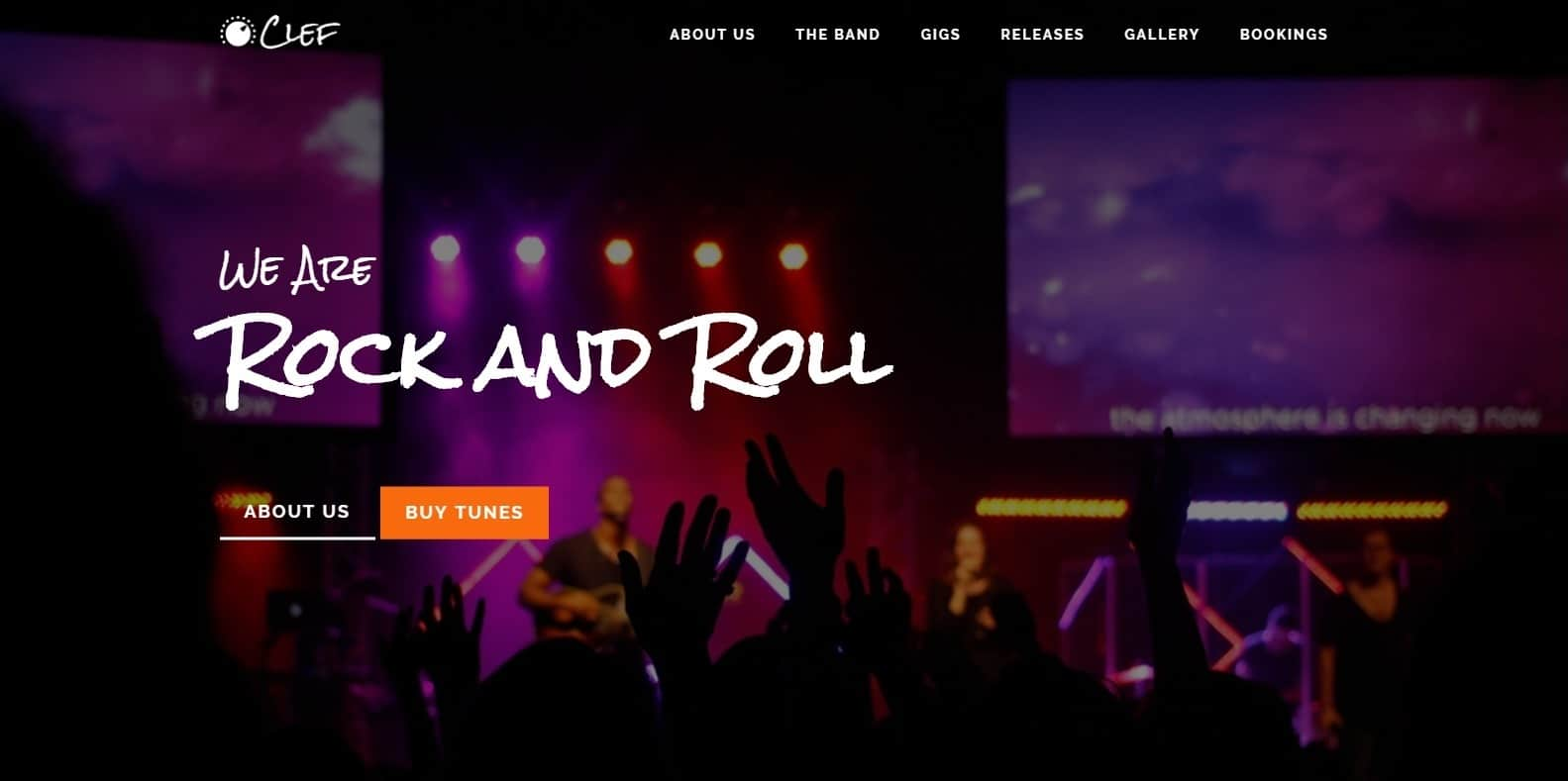 clef-html-free-website-template