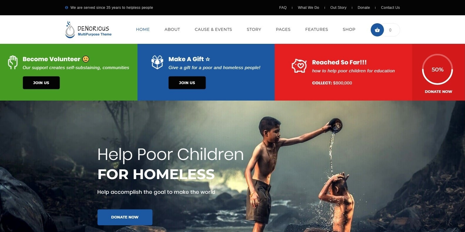 denorious-political-website-template