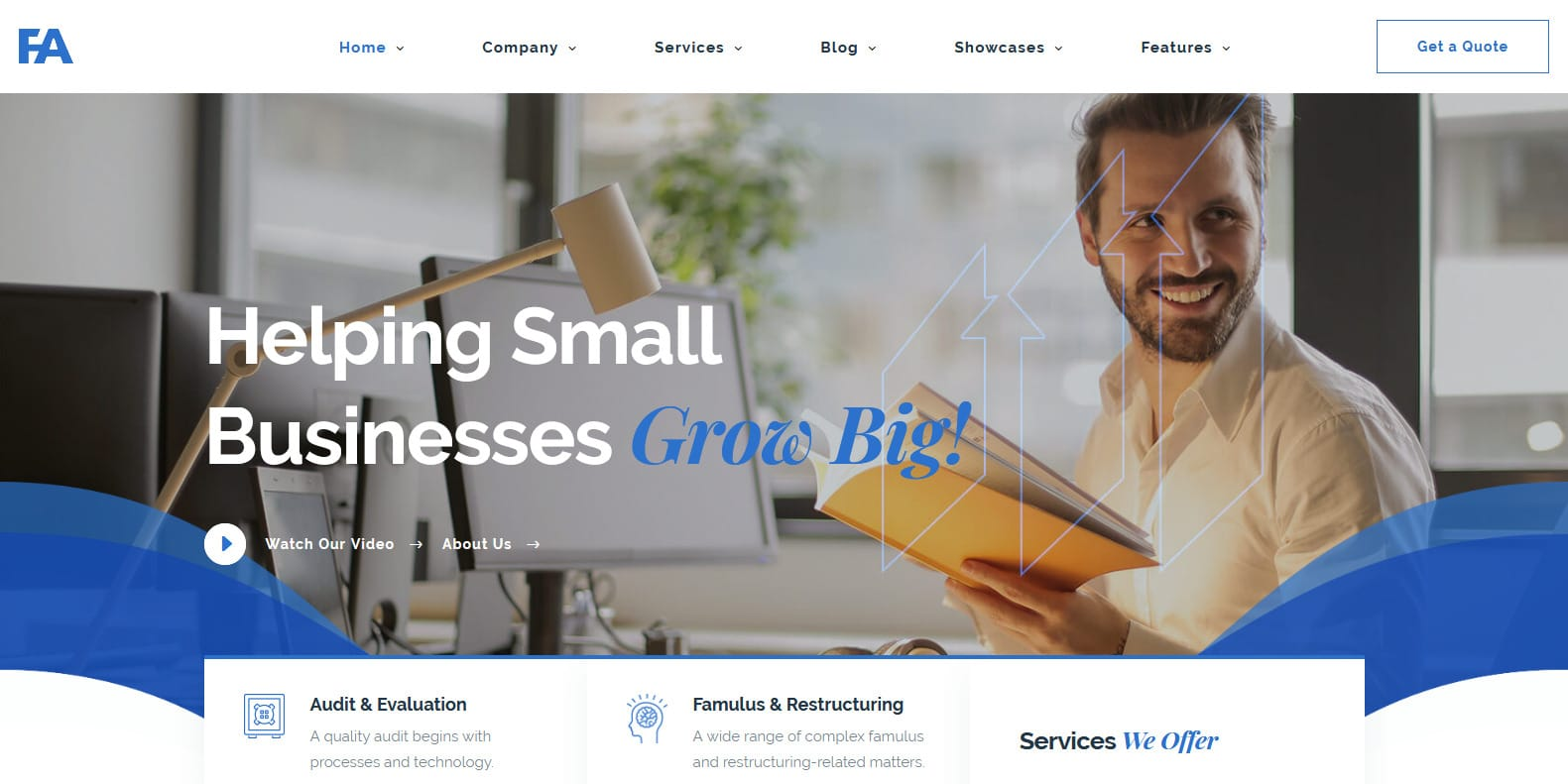 famulus-consulting-website-template