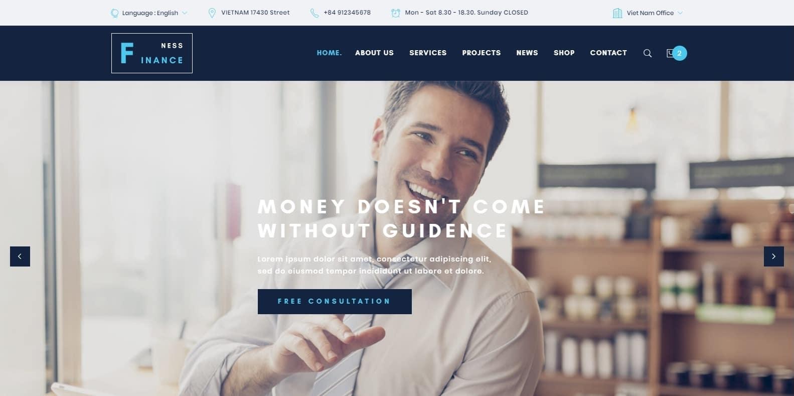 financeness-finance-webaite-template