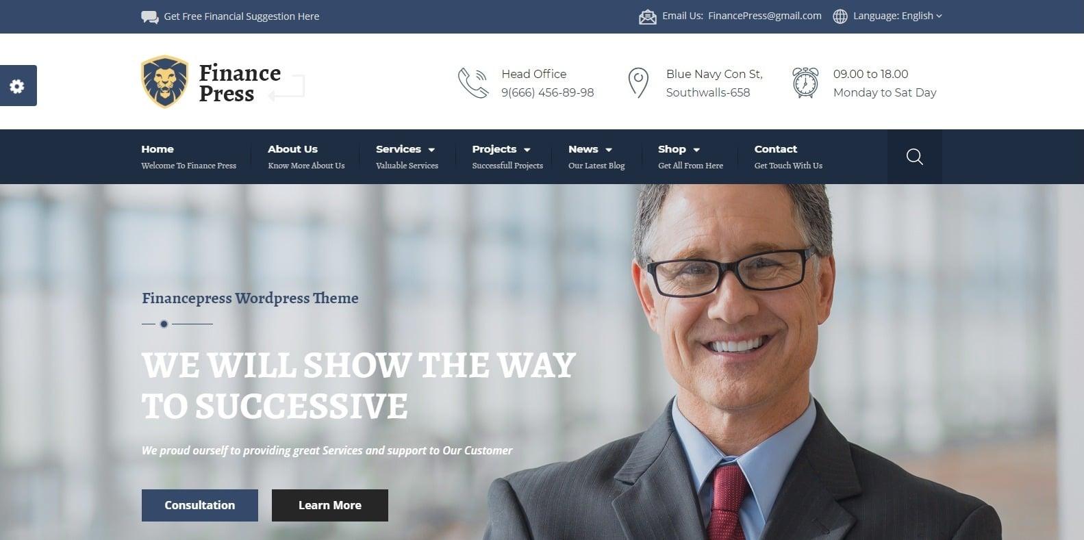 financepress-finance-webaite-template