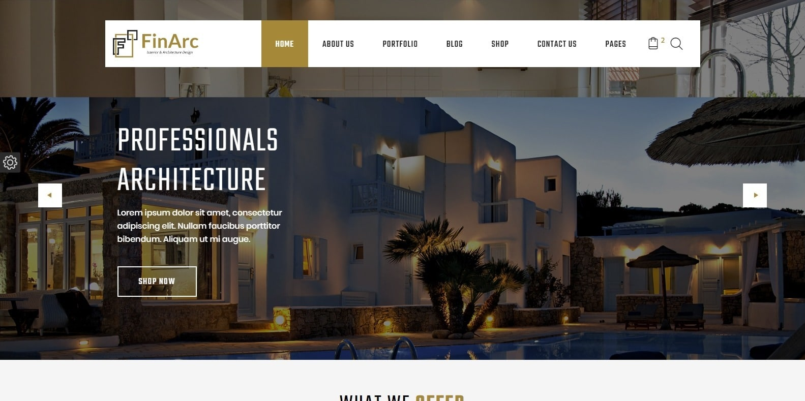 finarch-interior-design-template