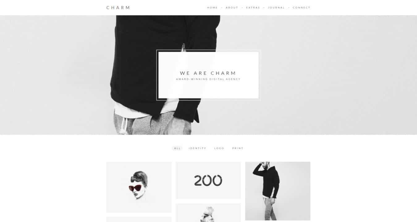graphic design website templates charm