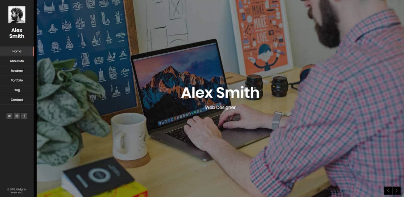 graphic design website templates kerge