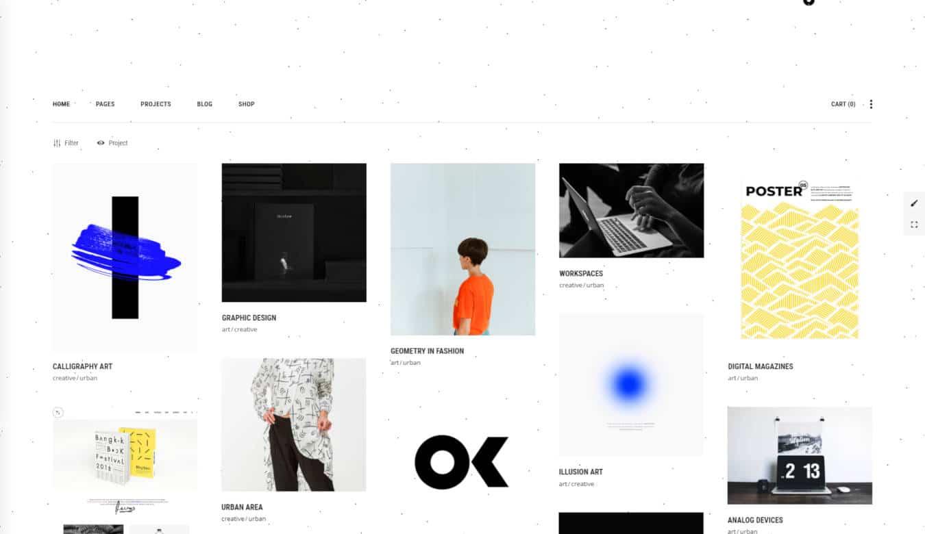 graphic design website templates monolab