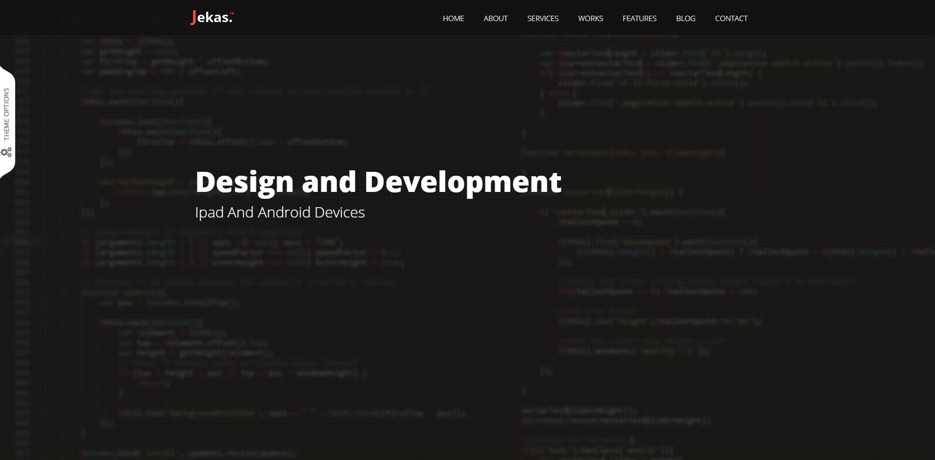 jekas technology website template