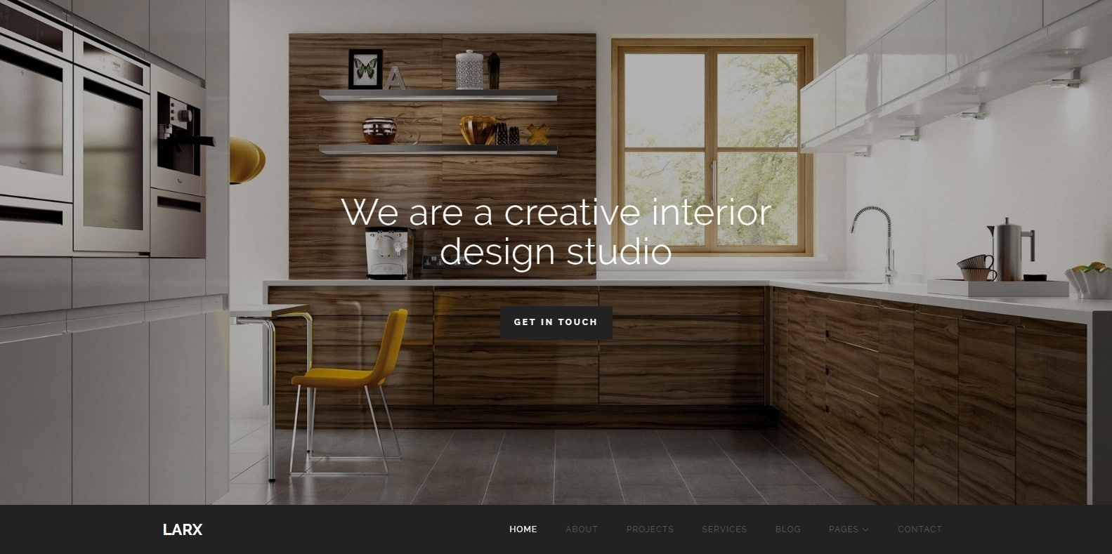 larx-interior-design-template