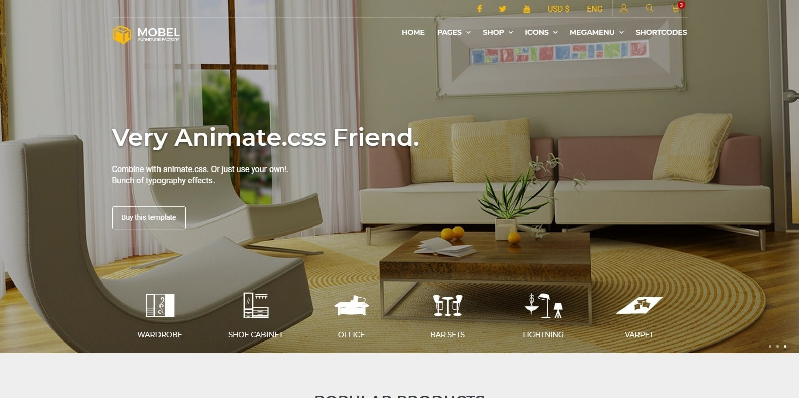 mobel-interior-design-template