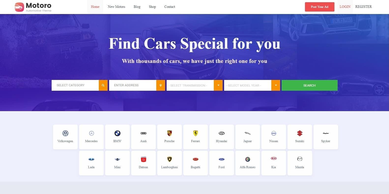 motoro-automotive-wordpress-theme