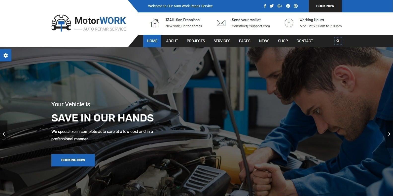 motorwork-automotive-website-template