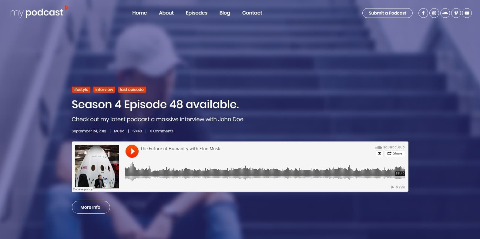 mypodcast-html-free-website-template
