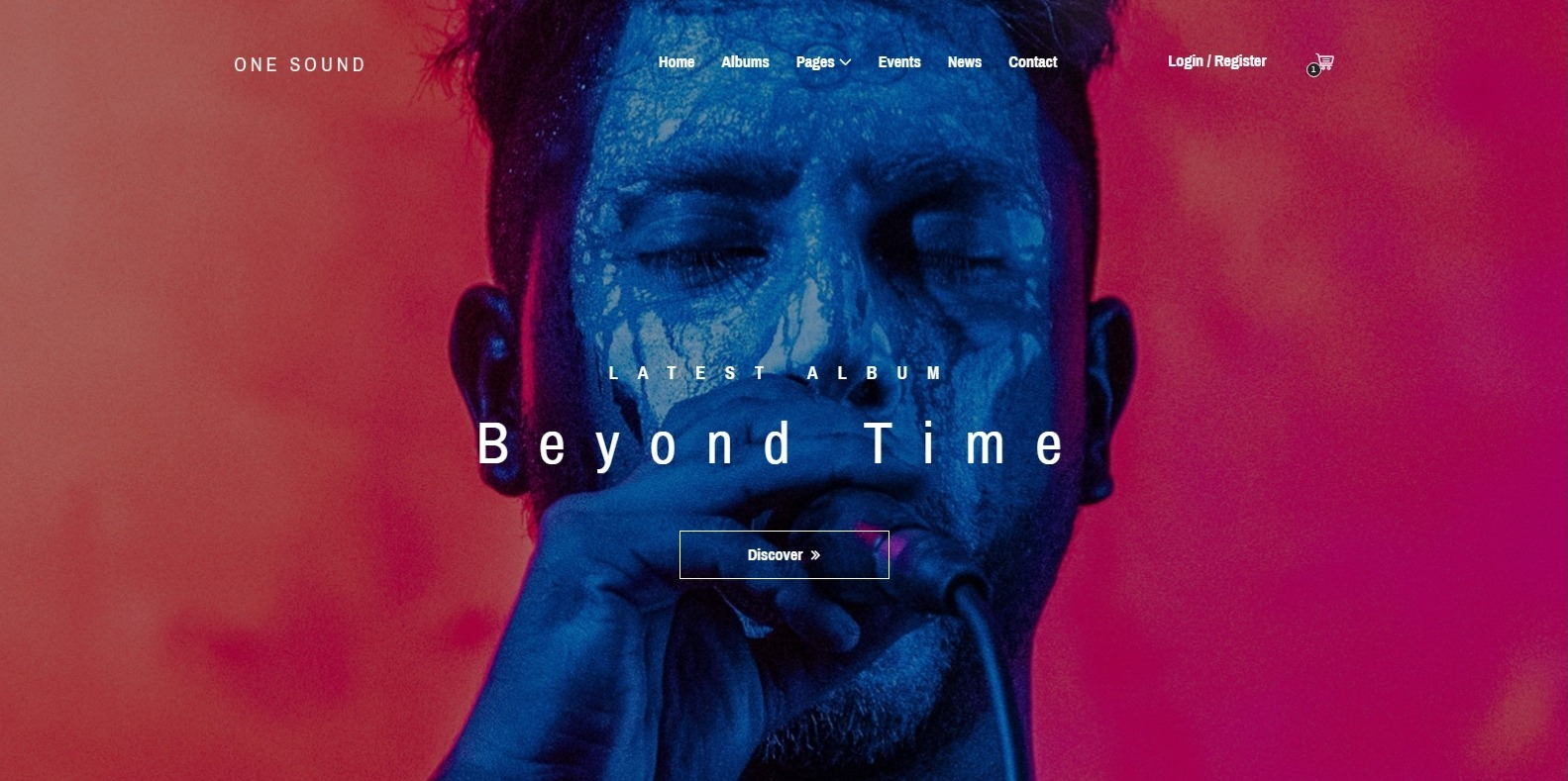 one-sound-html-free-website-template