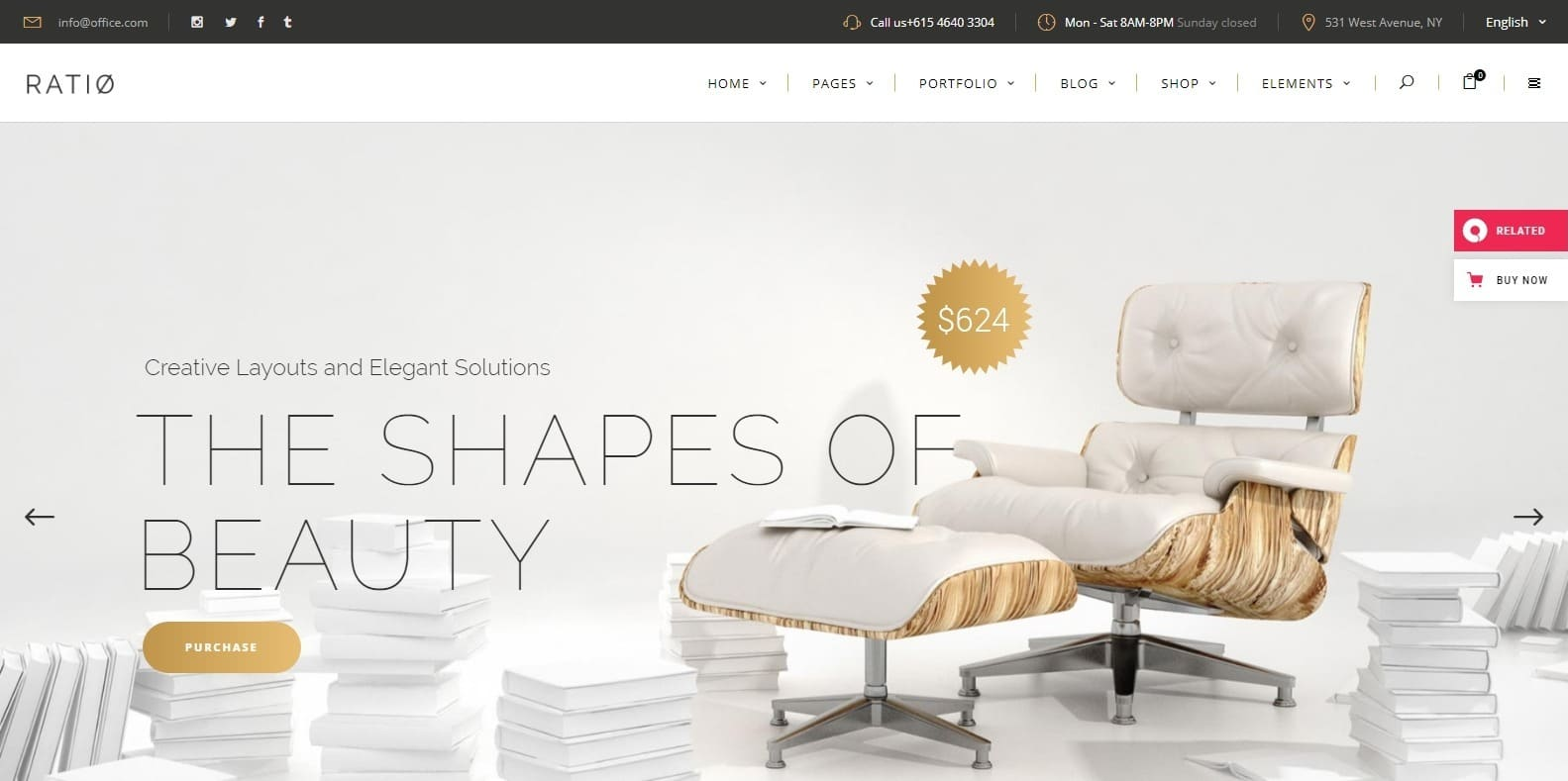 ratio-interior-design-wordpress-theme