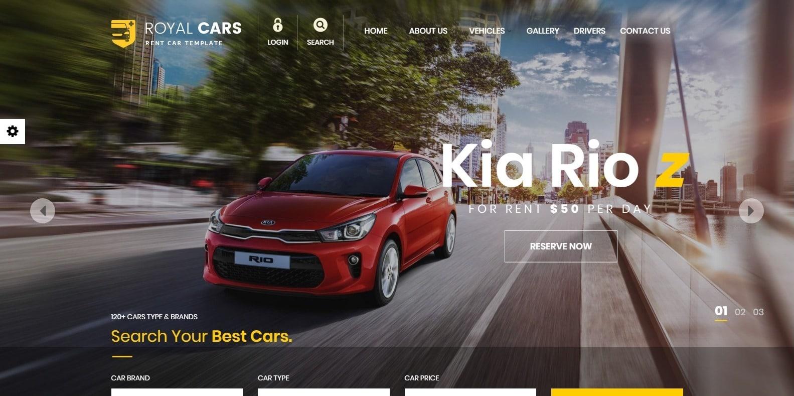 royal-cars-automotive-website-template