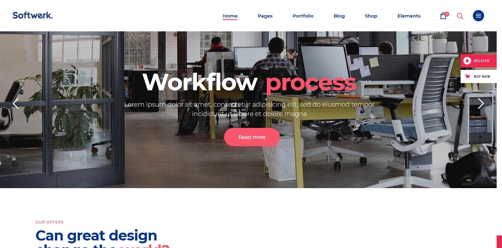 softwerk-software-website-template