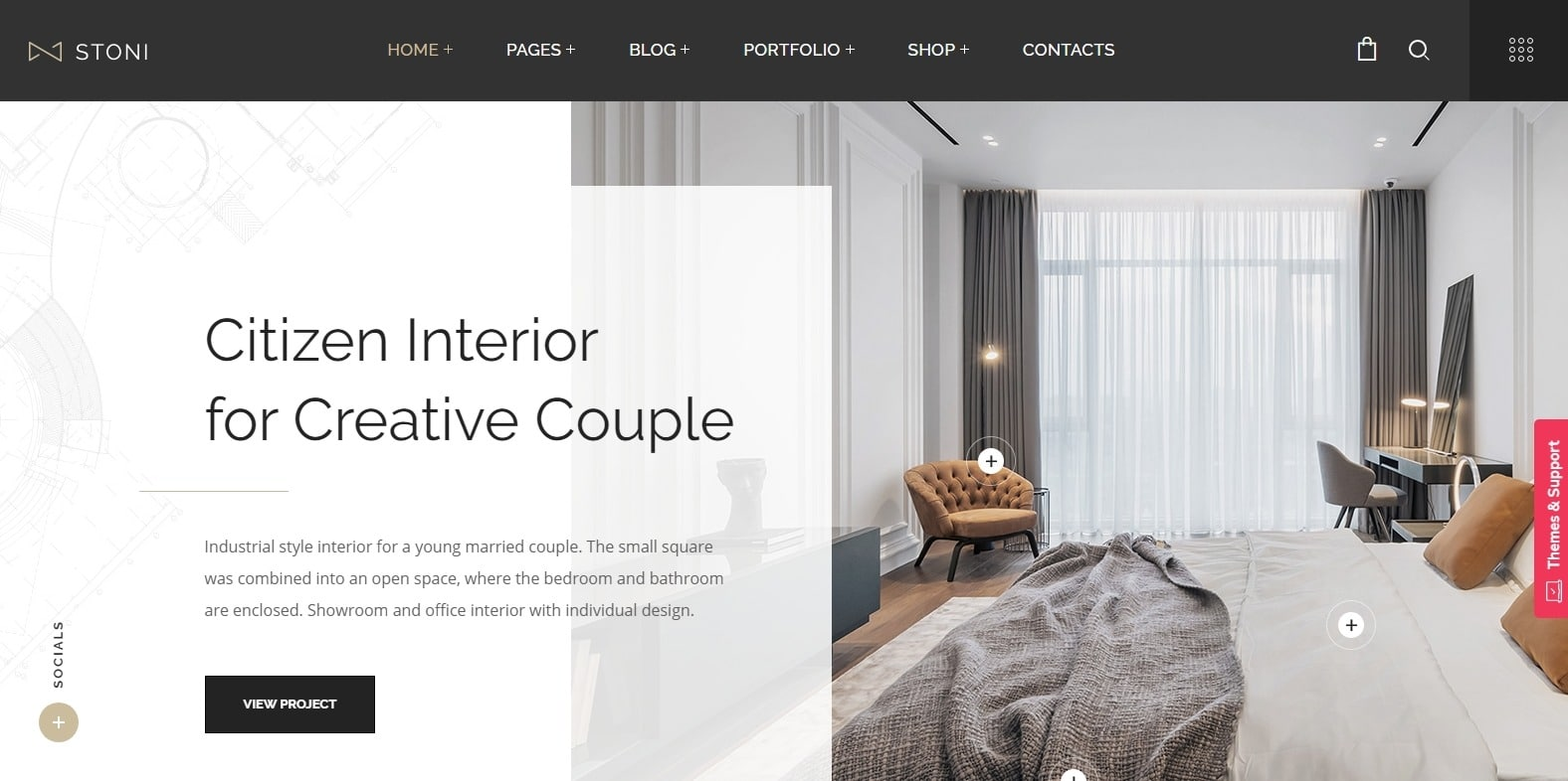 stoni-interior-design-website-template