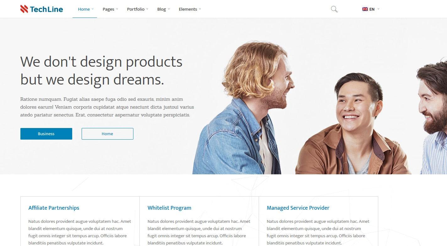 techline-technology-website-template