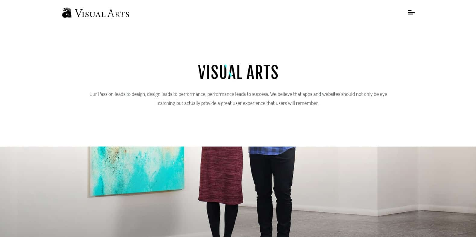 visual-arts-gallery-website-template