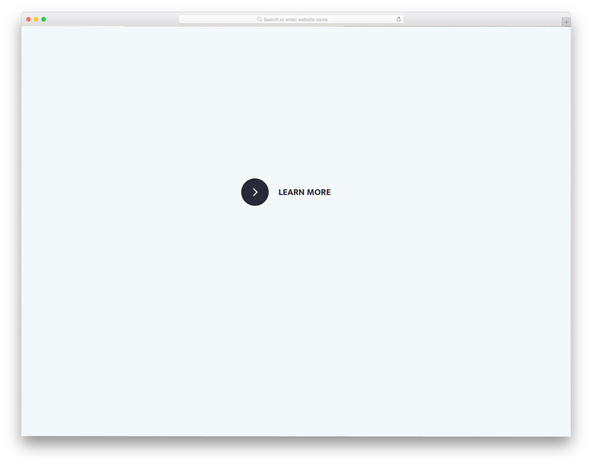 animated CSS link style for buttons and text links