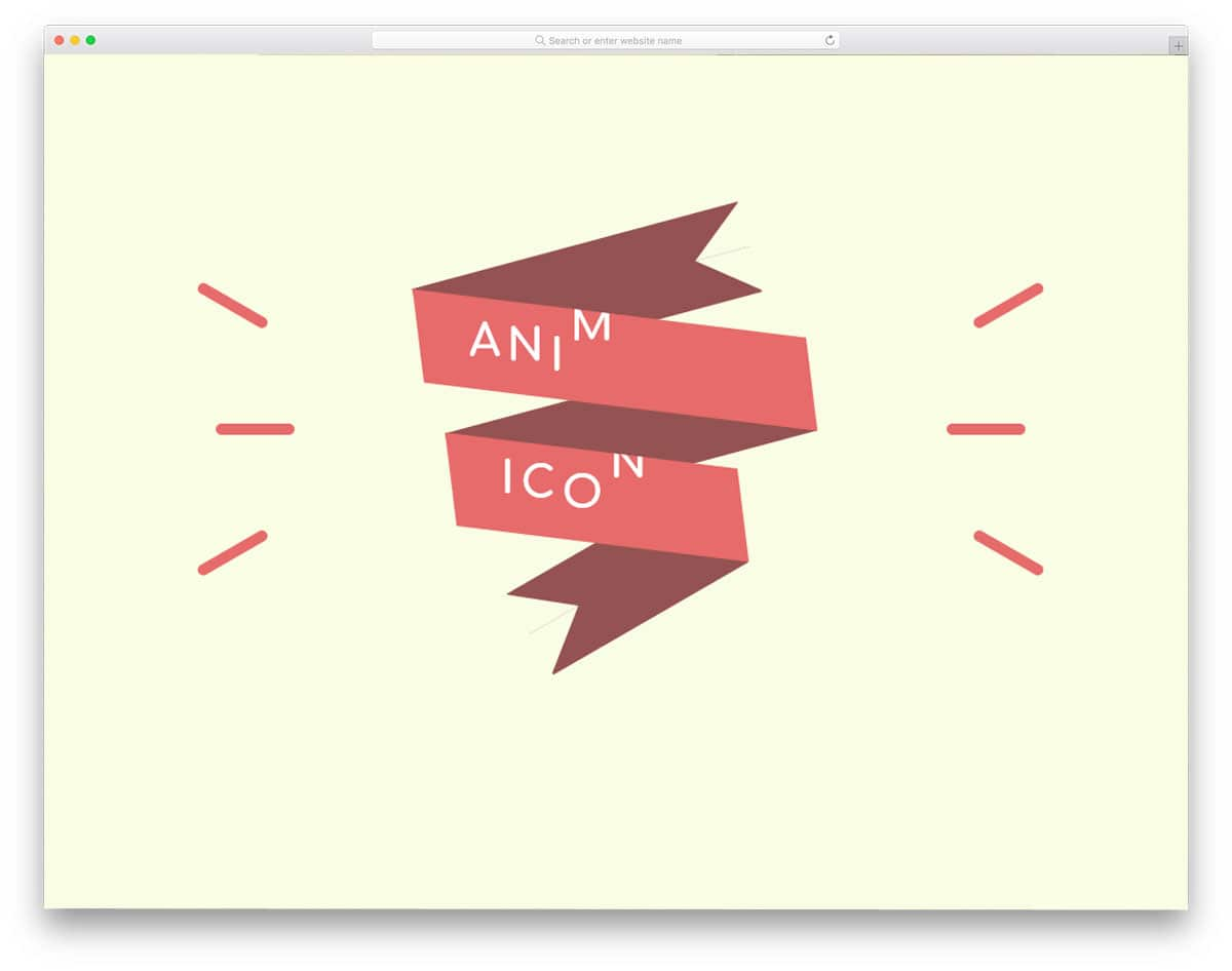 animated CSS ribbons