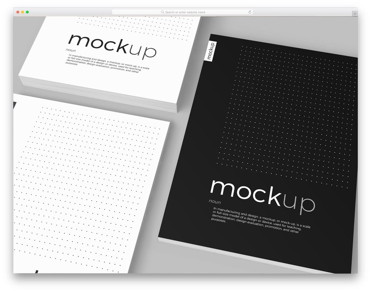 poster and flyer mockup bundle for professional designers