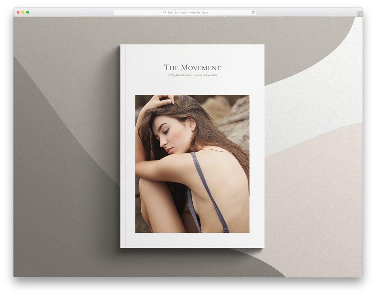 highly customizable magazine mockups