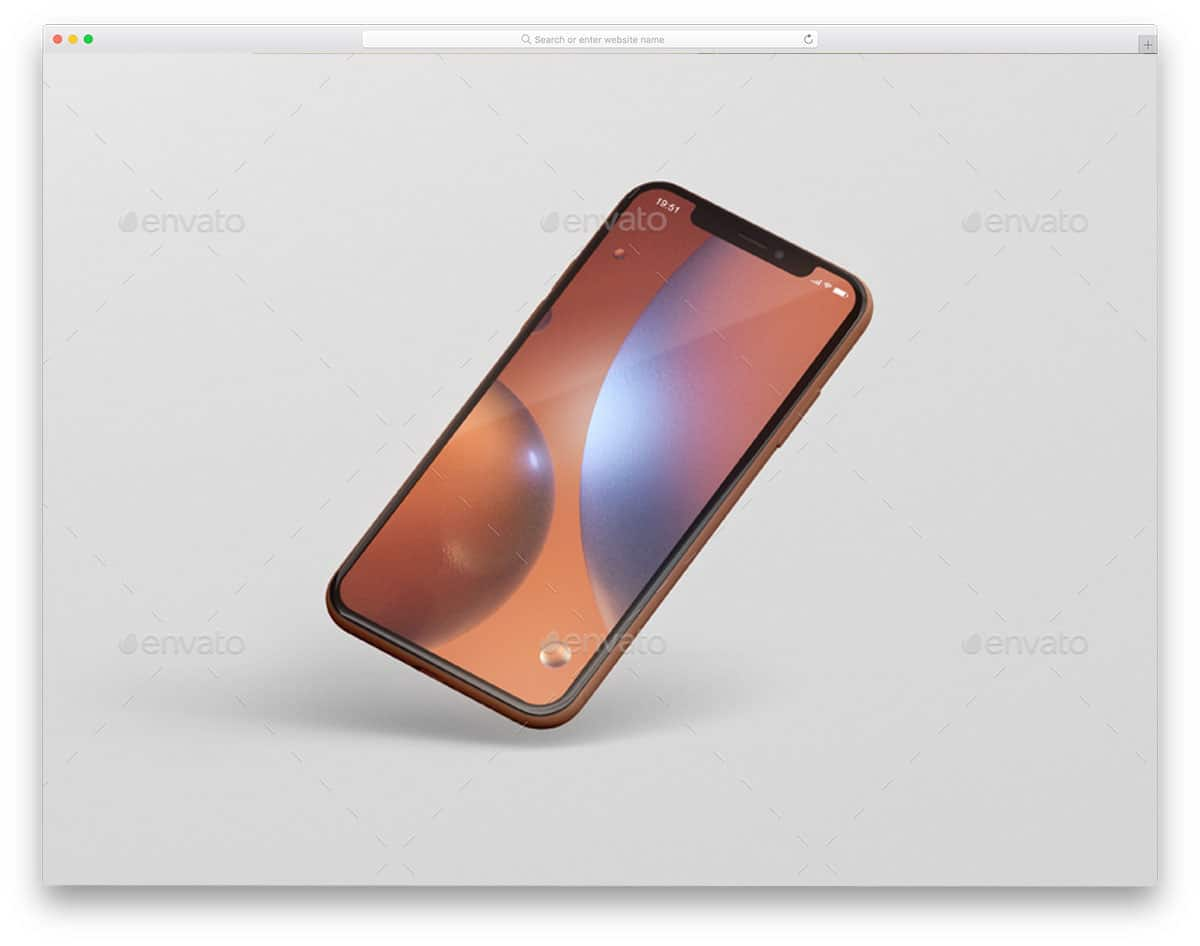 new iPhone XR mockups