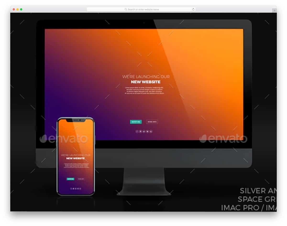 iMac for responsive designs