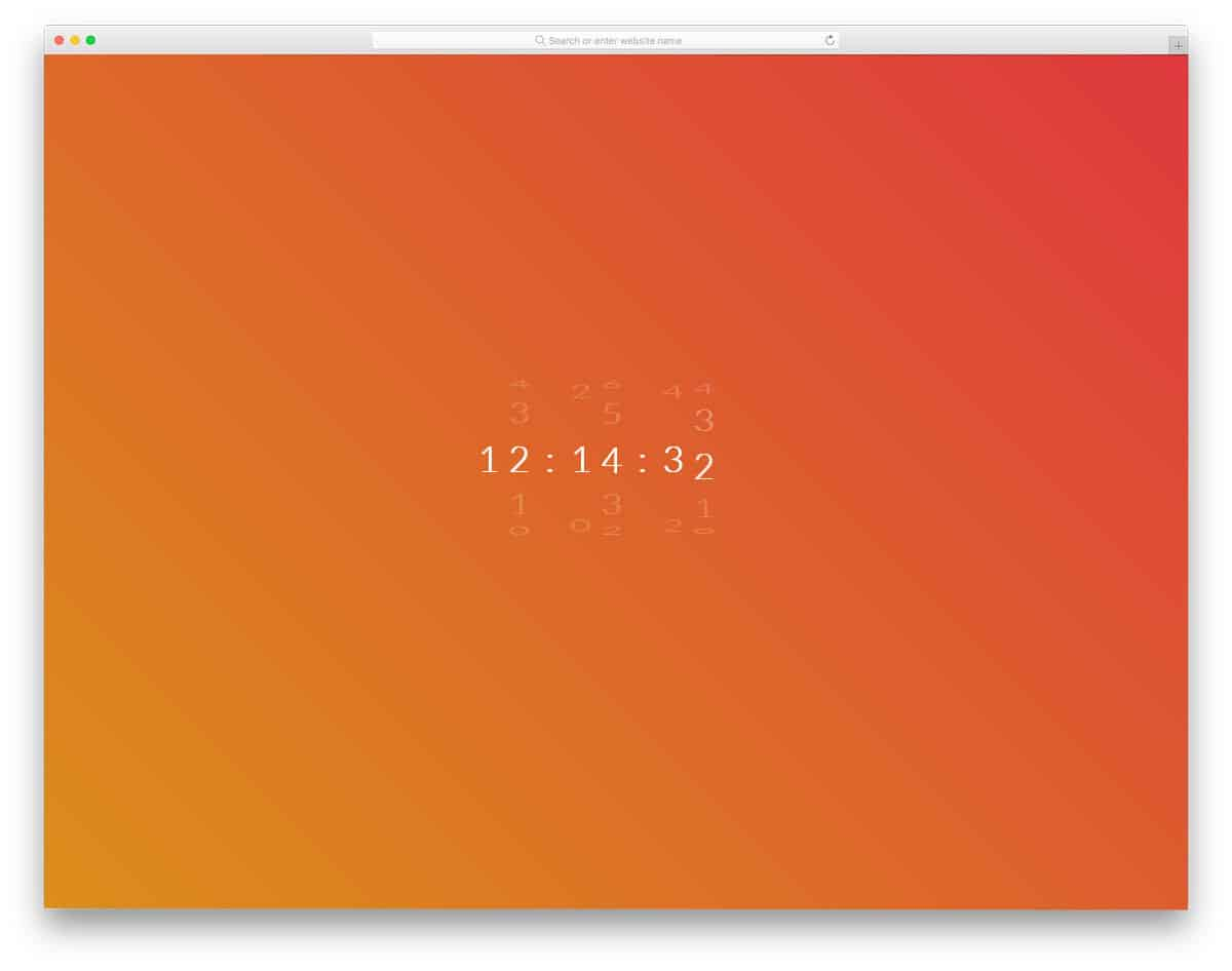 25 Cosy HTML Clock Designs For Modern Websites In 2019