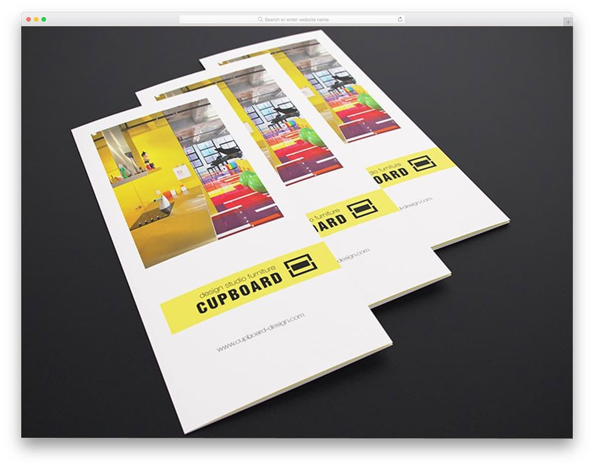 tri-fold flyers