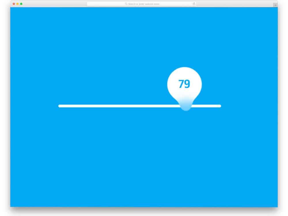 25 Interactive Range Slider CSS Designs To Quickly Explore