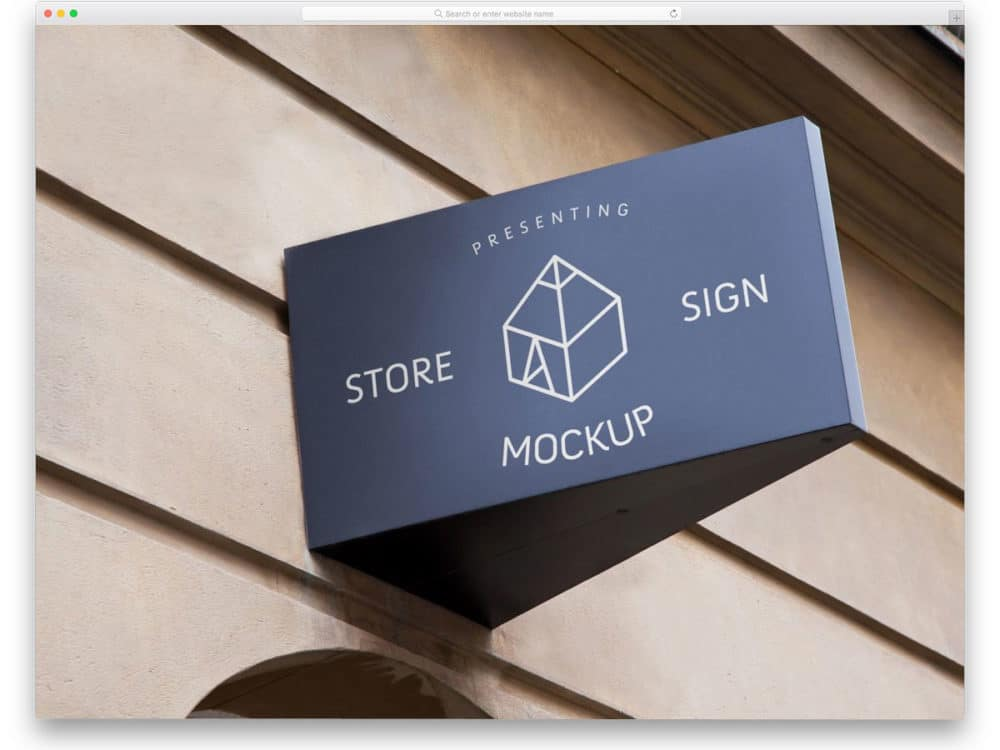 24 Vintage And Modern Sign Mockups For Commercial Stores Uicookies
